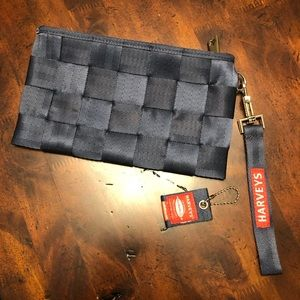 Harveys Seatbelt Navy Blue Wristlet